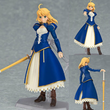 Figma 025 Maxfactory Max factory Extra CCC GSC Game Fate Stay Night Zero Blue Saber Excalibur Excalibur Arthur Action Figure (China (Mainland))