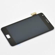 Оригинальный черный жк-цифровой для Samsung Galaxy S2 i9100 сенсорный жк-экран с цифрователем ассамблеи + открытые инструменты, Бесплатная доставка