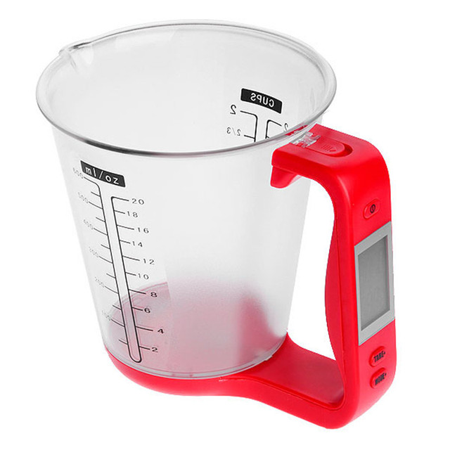 Electronic Measuring Cup : Digital cup scale electronic measuring household jug