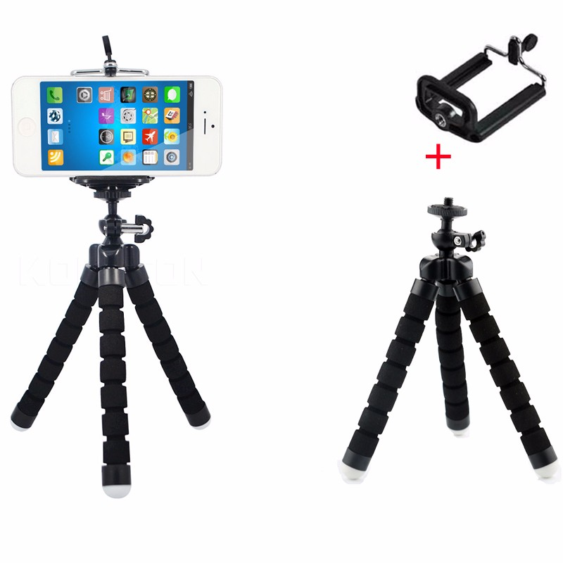 Mini Mobile Cell Smart Phone Camera Tripod Stand Tool for Gopro Hero 4 3 2 SJCAM Original Self-Timer Bluetooth Wireless Remote