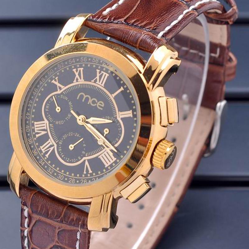 MCE Brand Watch Fashion Mechanical Watches Roman Scale Dial Women Wristwatches Full Steel Men Watch Casual Reloj<br><br>Aliexpress