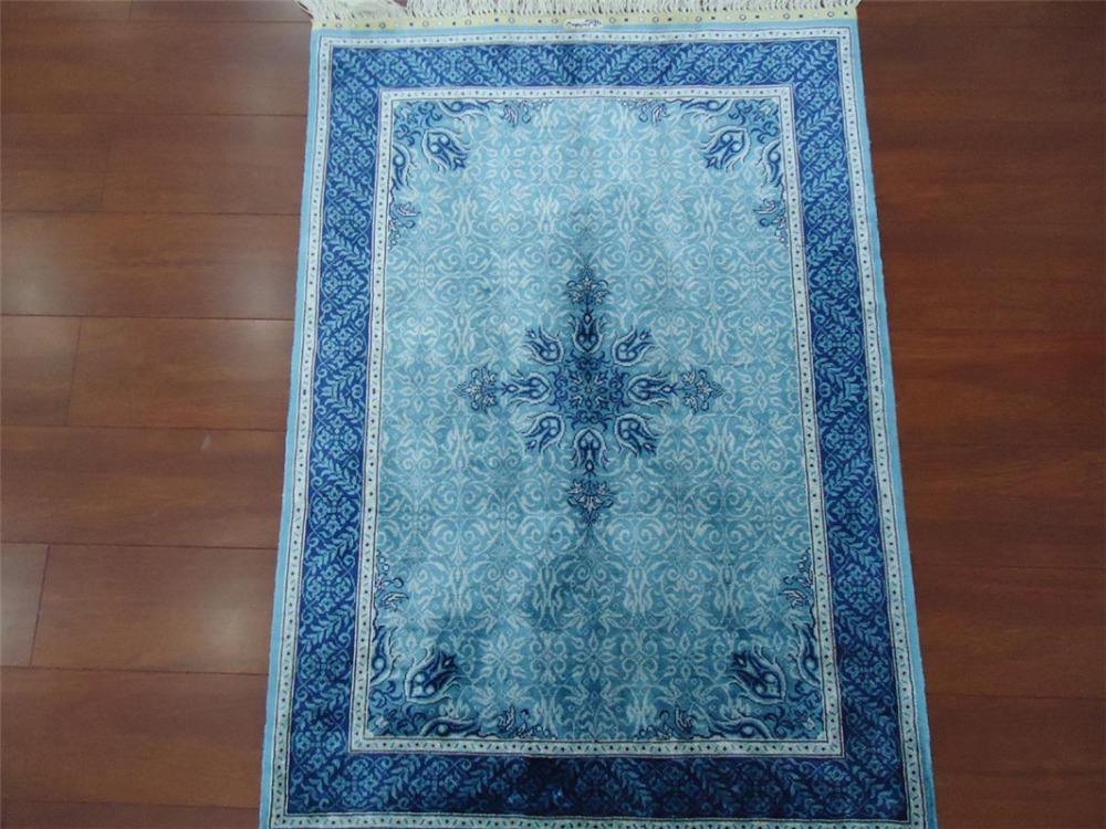 Chinese Hand woven silk blend persian carpets(China (Mainland))