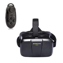 BOBOVR II 3D VR Glasses Xiaozhai II Virtual Reality VR Google Cardboard  for 4″~6″ Smartphone with bluetooth Cardboard  game