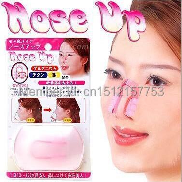 Women Beautiful nose shaper up nose lift nose up clip nose massage(China (Mainland))