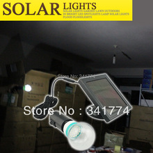 Portable Solar Flashlights Super Bright LED Solar Panel Powered Night Lights Path Wall Lamps for  Indoor & Outdoor Garden Decor(China (Mainland))