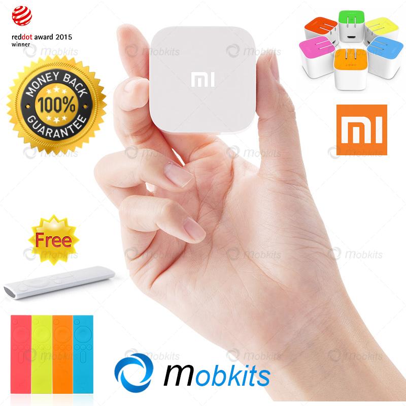 English XiaoMi Mi Box Mini Pre Installed KODI Chrome Mi TV Mini Android 4.4 Quad Core XiaoMi Smart TV Set Top Box Mini TV Box(China (Mainland))