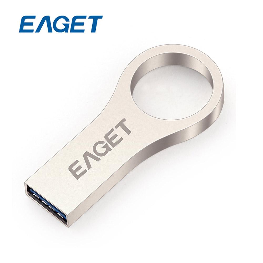 EAGET U66 USB3.0 Metal 32GB USB Flash Drive 32 GB Pen Drive USB Stick Pendives Ring Shape Waterproof Encryption(China (Mainland))