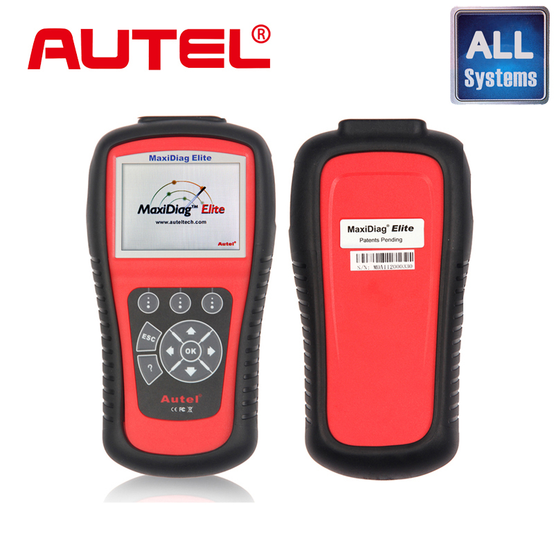 100% Original auto code reader AUTEL MaxiDiag Elite MD802 All system + DS model MD 802 PRO (MD701+MD702+MD703+MD704)(China (Mainland))