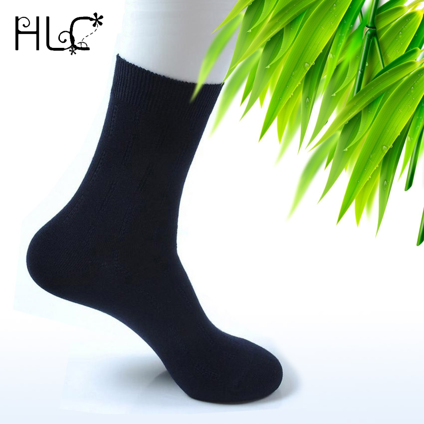10pcs=5pairs/lots NO-SMELLY Luxury Men Socks Odorless Mens Bamboo Fiber Cotton Dress Sox Meias Masculino Black Business Sock Man(China (Mainland))
