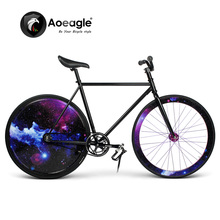 Fashion, Racing Bike, Fixed Gear Bike, Rear Wheel with LED, Road Bike(China (Mainland))