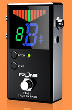 Pedal Tuner Chromatic Guitar Parts and Accessories Musical Instrument Free Shipping Include Battery