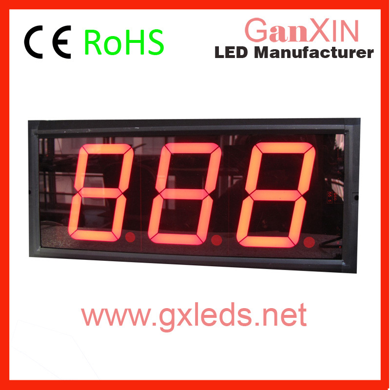 "4"" Large LED big digital counter/number display aliexpress(China (Mainland))"