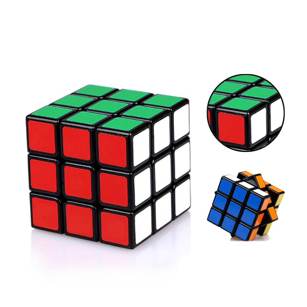 new Arrive 3x3x3 Speed Cube Magic Puzzle Black Twist Puzzles Toy Professional For kids adult developmental game Free Shipping(China (Mainland))
