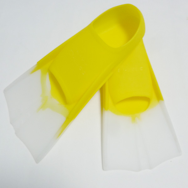 Professional yellow silicone snorkeling flipper,super quality scuba Diving Fins F-98s(China (Mainland))