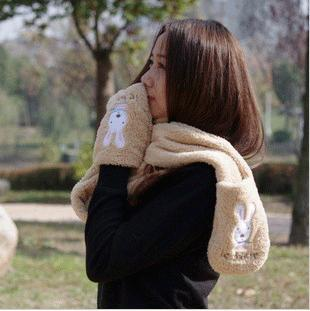 Even hand scarves genuine security le sucre sugar rabbit cartoon Paul warm scarves scarves wholesale manufacturers(China (Mainland))