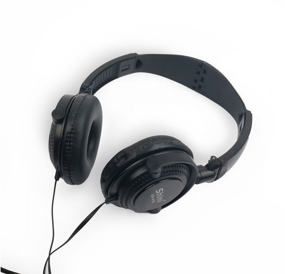 Shini A18 Stereo Headset Headphone Earphone with Microphone 3.5mm Factory Price Wholesale for iPhone and Xiaomi Mobile Phone