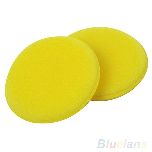 12x Waxing Polish Wax Foam Sponge Applicator Pads For Clean Cars Vehicle Glass 0BGO
