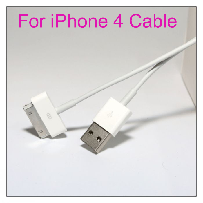 Micro USB Cable Charger For iPhone 4 4S Mobile Phone Charging Cable Long Wire Data Charger Cable For iPhone 4S USB Wire(China (Mainland))