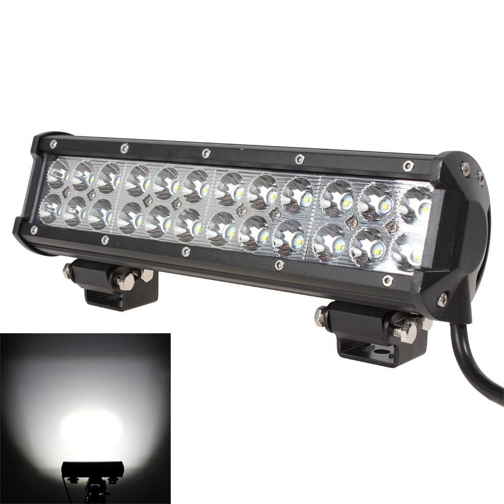 "1PC 12"" 72W LED Light Bar 7200lm Combo Beams 24pcs 3W Led Chips Waterproof for 12V 24V off road Van Camper Wagon ATV AWD SUV 4W(China (Mainland))"