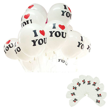 Delicate 12 inch Pearl Latex Balloon I LOVE YOU Balloons Christmas Wedding Decorations Hot Selling