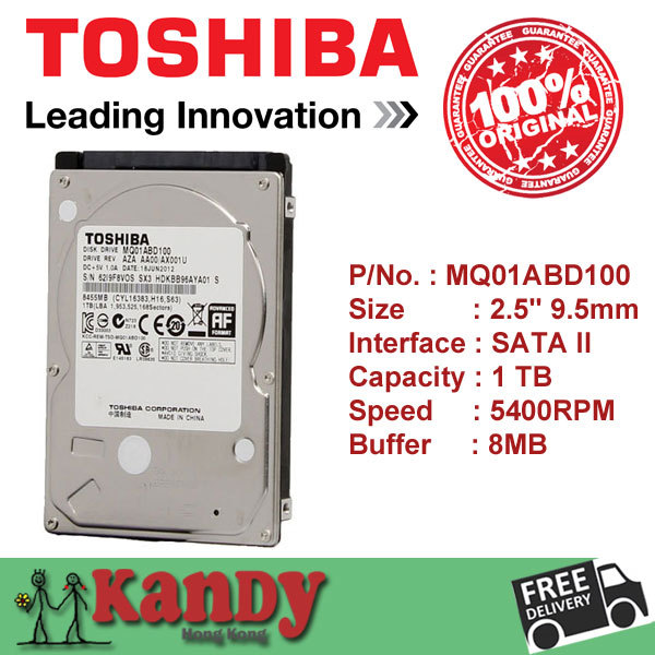 Toshiba 1TB hdd 2.5 SATA 5400rpm disco duro laptop internal sabit hard disk drive interno hd notebook harddisk disque interne(China (Mainland))