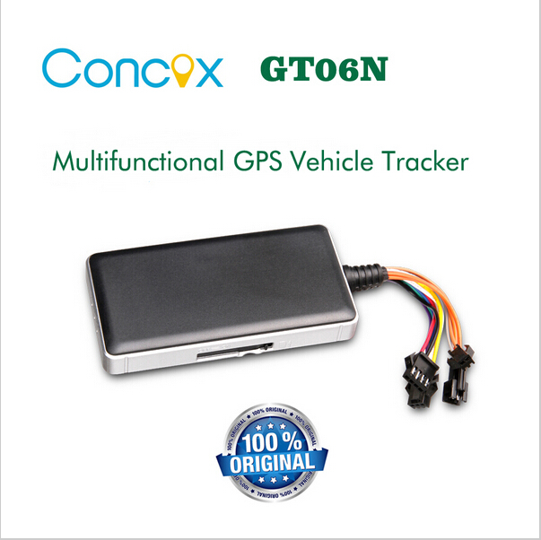 Concox GT06N auto car security GPS Tracking device with anti-theft Remote lock car(China (Mainland))