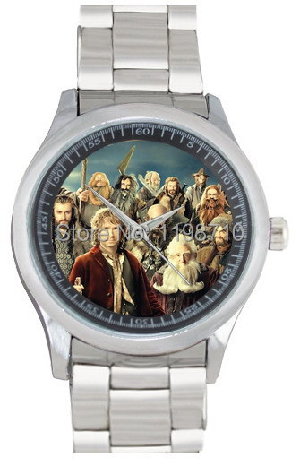 2014 combine popular fashion element quartz watch The Hobbit printed give friends nice birthday gift(China (Mainland))