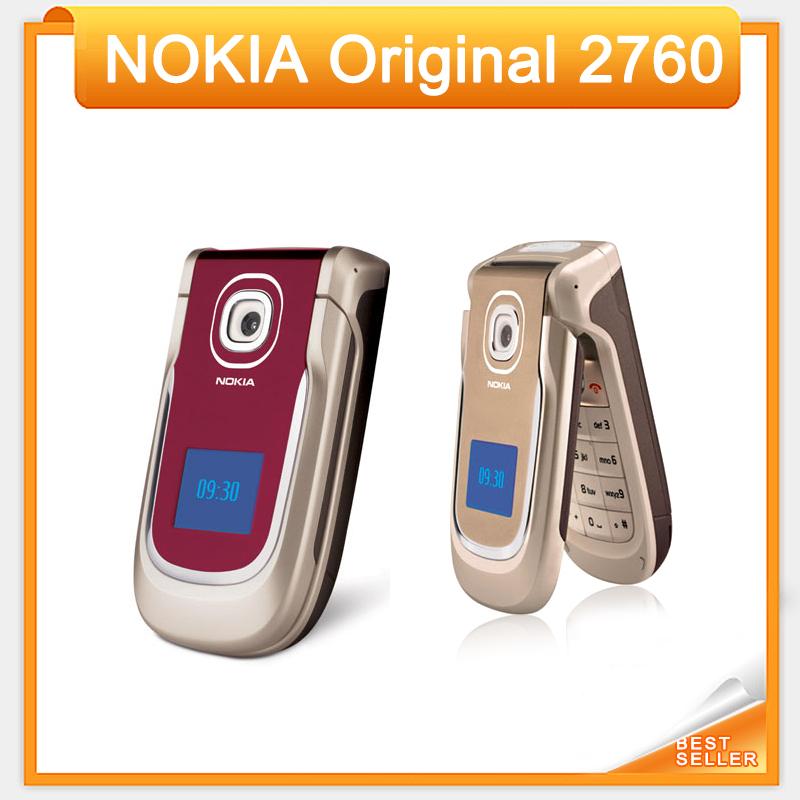 Free Shipping Nokia 2760 Original Unlocked Mobilephone with Bluetooth FM Radio Java Games(China (Mainland))
