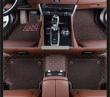 For Audi A6L Limousine 2012.2013 Floor Mats Auto Foot Carpets Step Mat High Quality Brand New Embroidery Style 2 Layer