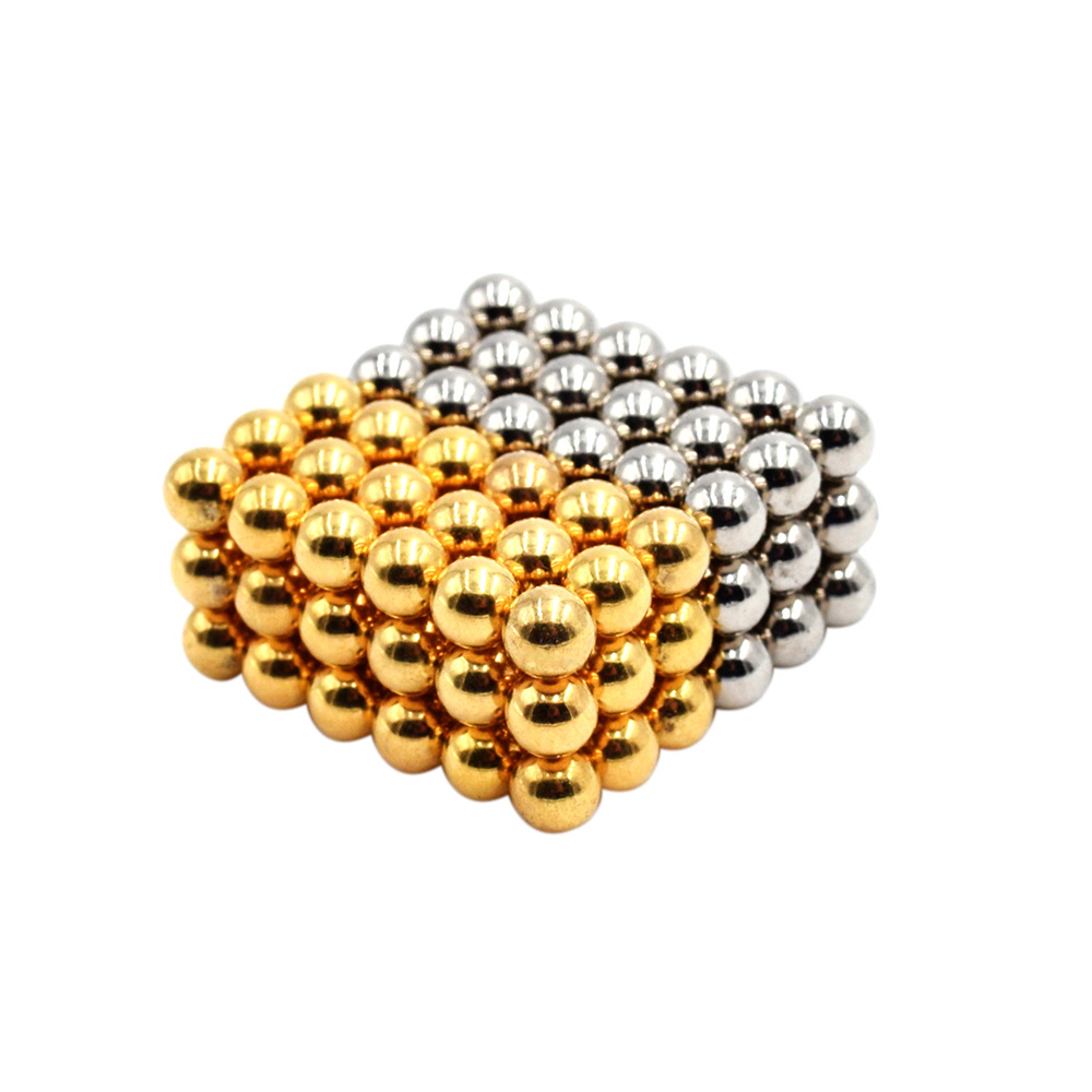 108 Pieces 5 mm Magnetic Beads Puzzle Spheres Neodymium Iron Magnetic Balls DIY Educational Kids Toys 3D Puzzle For Children(China (Mainland))