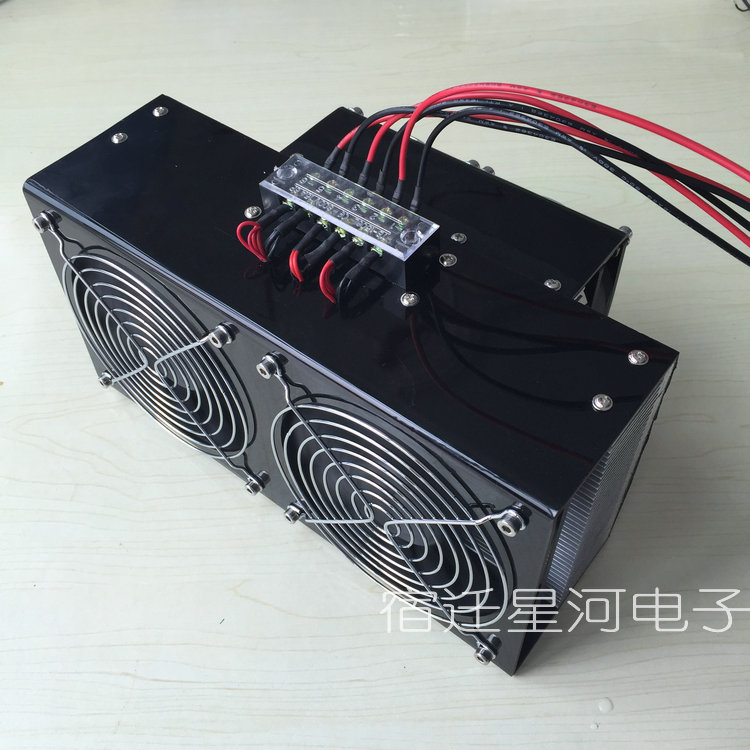 semiconductor electronic refrigeration air cooling cooler air conditioning DC12V 360W(China (Mainland))