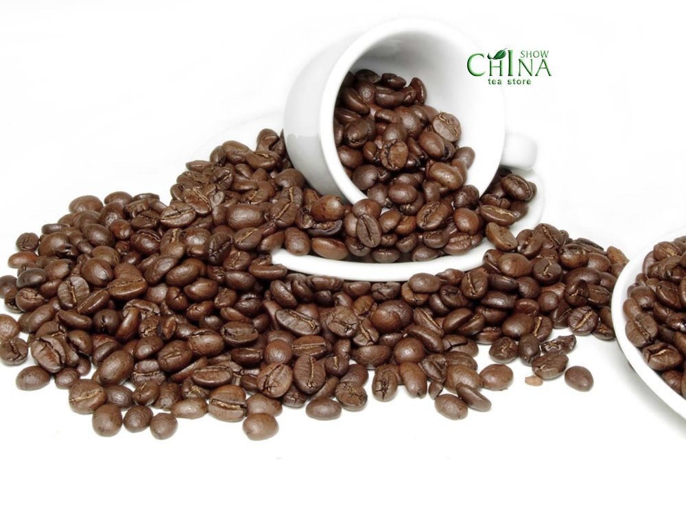 454g Arabica Coffee Beans Baking charcoal roasted Orgainc slimming coffee lose weight tea