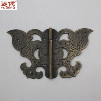 Ming and Qing antique furniture, copper fittings copper brass hinge hinge closet pan skin YRF1551(China (Mainland))