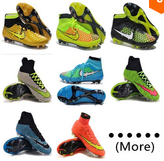 Free Shipping 2015 New Magista Obra Superfly FG Football Boots High Ankle Soccer Shoes Mens Outdoor Cleats 100% Original Quality(China (Mainland))