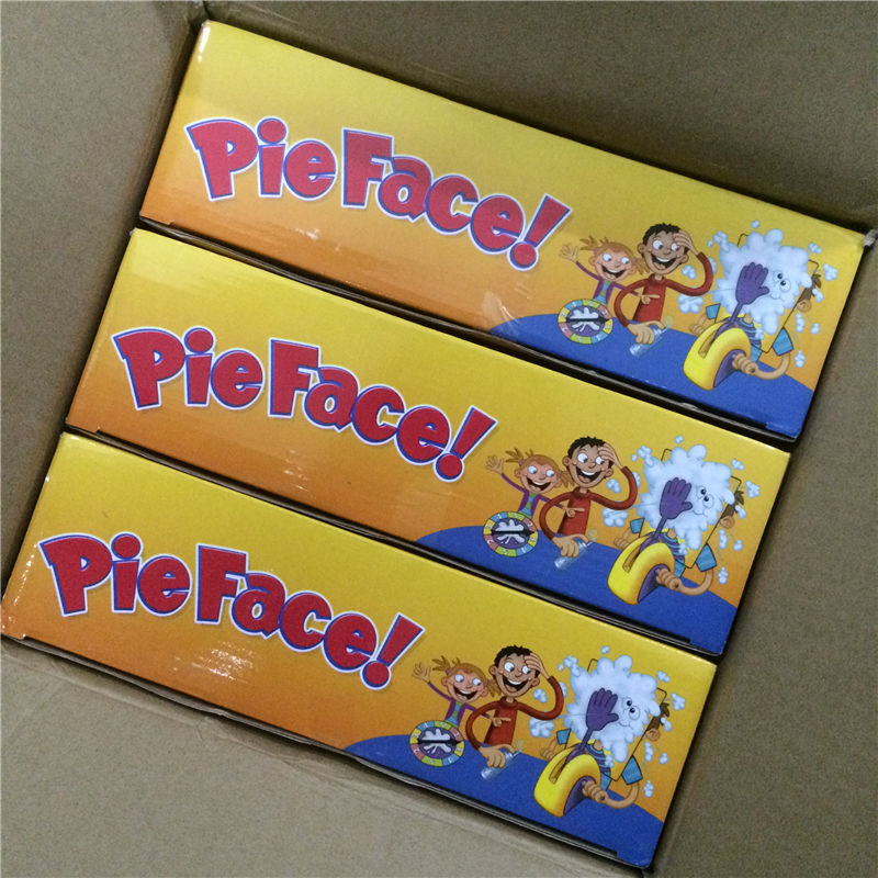 3pcs/lot Korea Running Man Pie Face Game Cream Hit Face Home Pie Face Game Novelty Fun Anti Stress Prank Funny Rocket kids Toys<br><br>Aliexpress