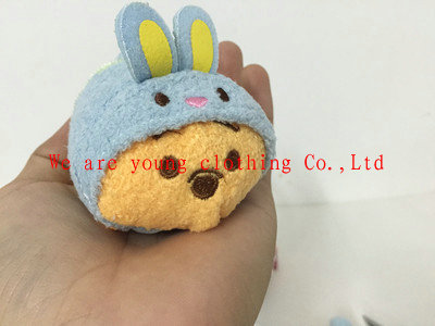 HOT SALE! Eeyore Easter Tsum Tsum Collection S Plush Toy fashion doll Key Chain Bag Hanger Free shipping(China (Mainland))
