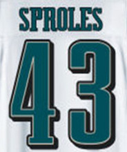 91 Fletcher Cox 43 Darren Sproles jerseys Sam Bradford Randall Cunningham green 87 Brent Celek Ryan Mathews 81 Jordan Matthews(China (Mainland))