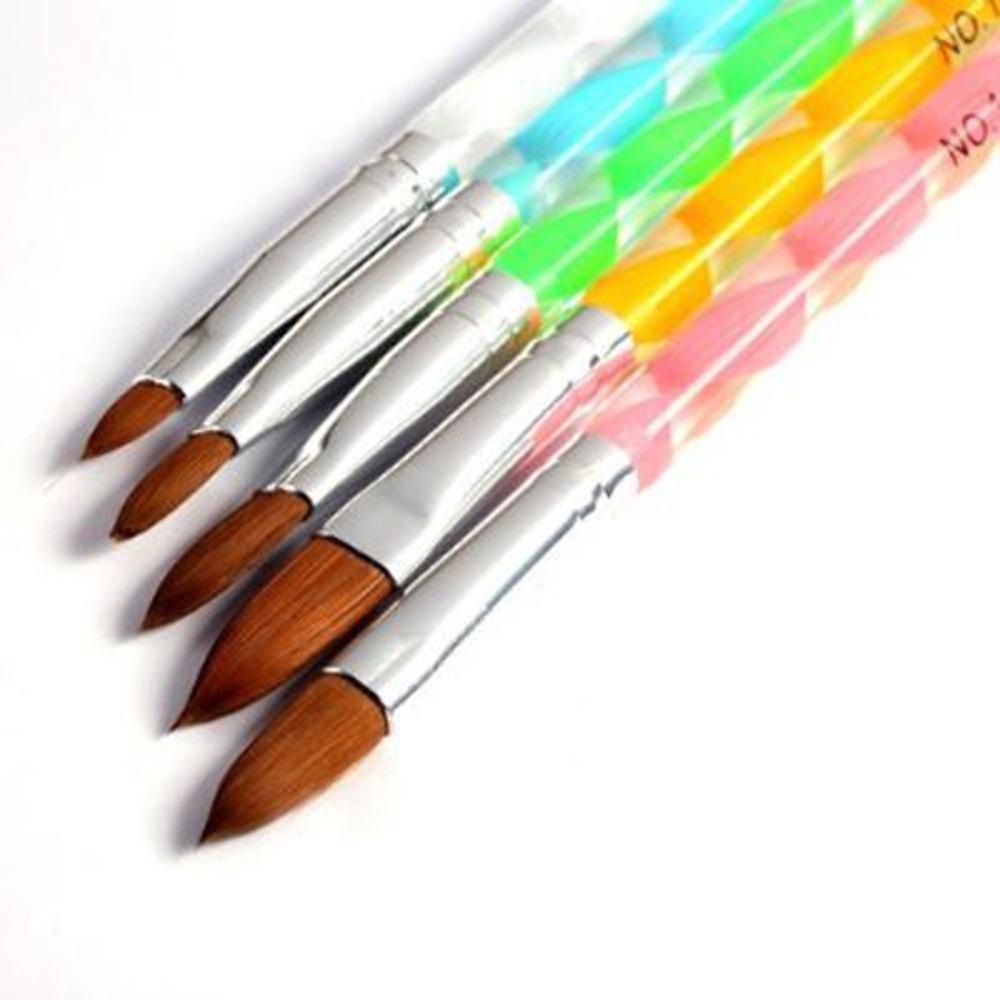 Гаджет  Summer Shop! 350buy 5pcs Acrylic Nail Art UV Gel Carving Pen Brush Liquid Powder DIY No. 4/6/8/10/12 None Красота и здоровье