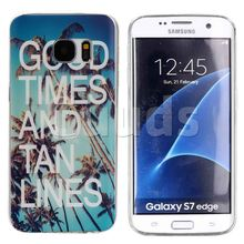 Wholesale for Samsung Galaxy S7 Edge TPU Case Good Times Painting Soft TPU Case for Samsung Galaxy S7 Edge G935 Factory Price(China (Mainland))