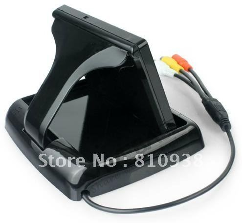 Foldaway 4.3-INCH TFT-LCD Car head up display free shipping