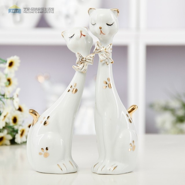 Modern brief wedding gift ceramic crafts decoration new for Modern new home gifts