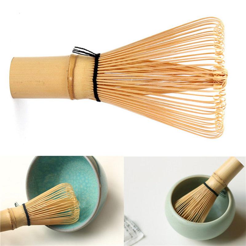 Matcha Whisk Practical 11x6cm Japanese Ceremony Bamboo Chasen 64 Matcha Powder Whisk Green Tea Chasen Brush Tool(China (Mainland))