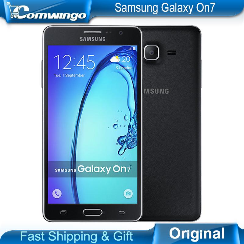 Original New Samsung Galaxy On7 G6000 Mobile Phone 5.5''13MP Quad Core 1280x720 Dual SIM Smartphone 4G LTE Unlocked Mobile phone(China (Mainland))