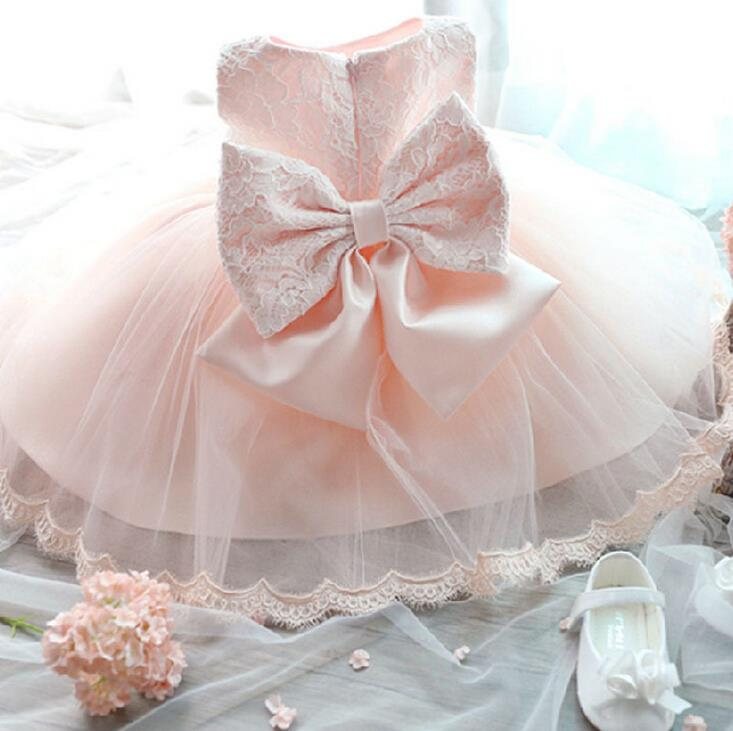 flower girl summer princess dress baby party wedding lace tulle tutu dresses
