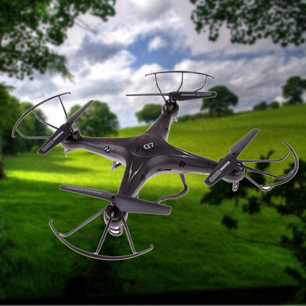 BS#S FY326 Q7 2.4G 6-Axis Gyro 4-CH UFO RC Quad-copter kvadrokopter Remote Control Helicopter with LED Light Free Shipping(China (Mainland))