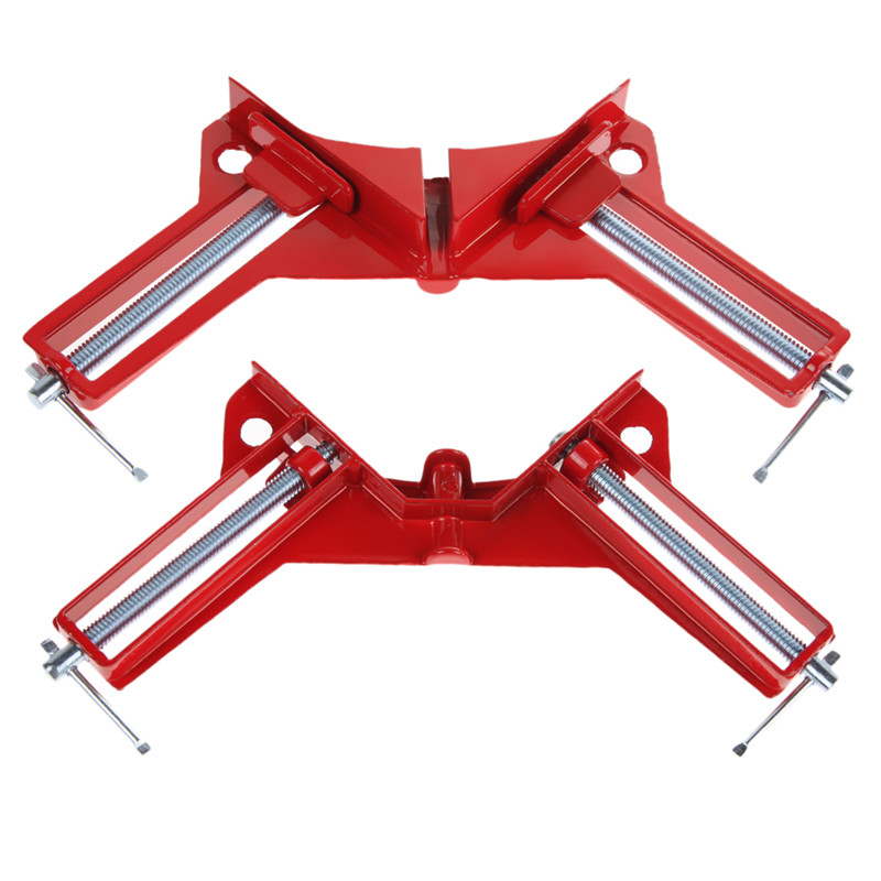 LS4G 90 Degree Right Angle Clip Picture Frame Corner Clamp Woodworking Hand Tool Kit Free shipping(China (Mainland))
