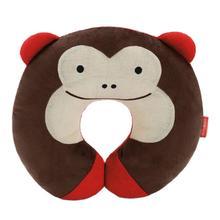 Kawaii Baby pillow U Shape Headrest Cartoon Design Kids Baby Pillow Neck Protector Travel Toys for 0-4 years old(China (Mainland))