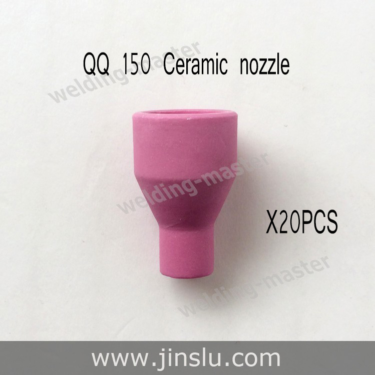 Ceramic nozzle 20PCS for QQ150 tig welding torch with Free shipping(China (Mainland))
