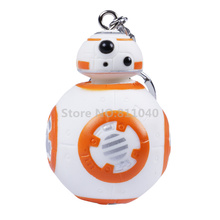 "Buy 2016 New Toy 1PCS Star Cartoon Novelty Wars Force Awakens bb Droid Robot Figure Keychain Collection Toys 2.4"" for $4.83 in AliExpress store"