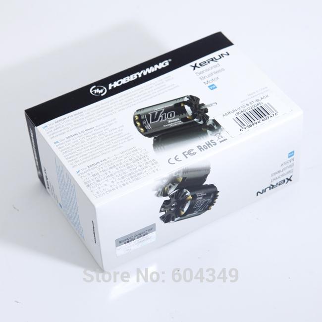 HobbyWing XERUN V10 6.5T 5340KV E-MOTOR Sensored Brushless For 1/10 RC R/c CarFreeshipping